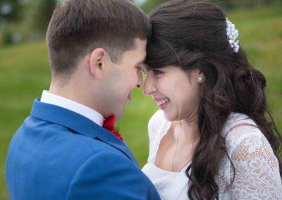 Постановочная свадебная фотосъемка