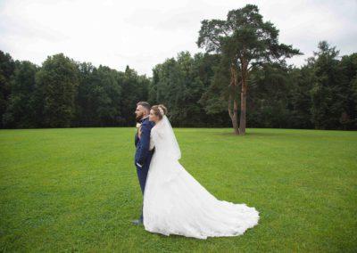 Свадебная фотосессия летом в Царицыно