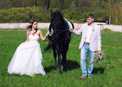 Свадебная фотосъемка в стиле кантри