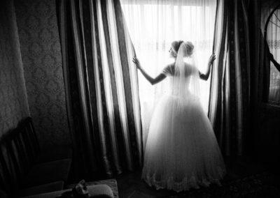 Свадебный фотограф зимняя свадьба Москва